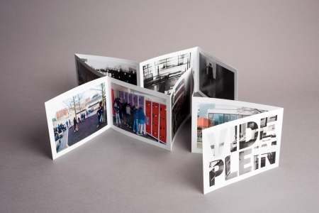 Different books - paper design